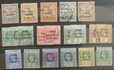 Togo, Cyprus, Matla, Gibraltar 1880/1960 - A collection on stock pages