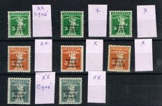 Switzerland - Service stamps as from Industrielle Kriegswirtschaft.