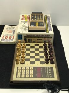 Antique Trivial & Electronic Chess