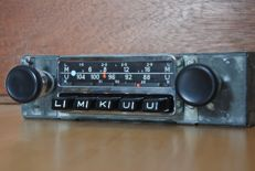 Blaupunkt Frankfurt. A classic car radio for Porsche 911 and 912 - 1969