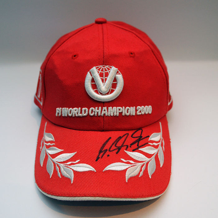 Nice Michael Schumacher personally signed cap