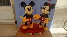 "Disney, Walt - Statuette - The Art of Disney Themeparks - Mickey & Minnie - ""A Walk in the park"""