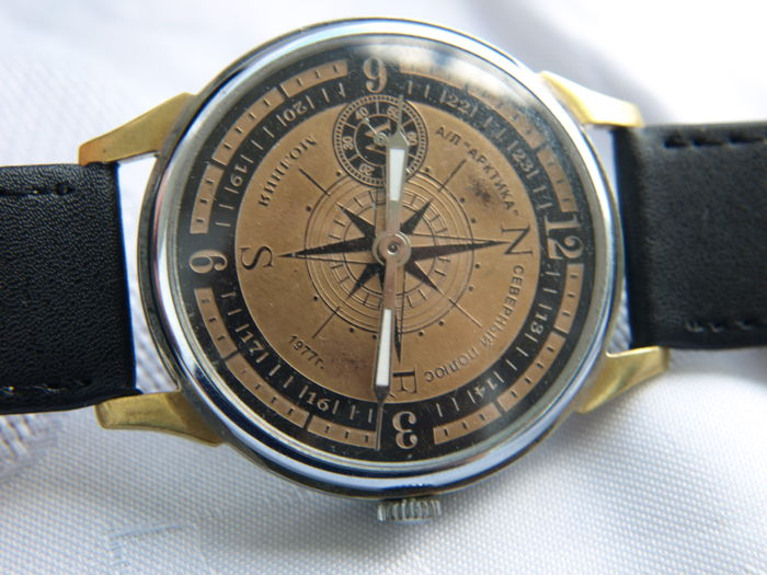 09. Molnija Sailing watch marriage wristwatch between 1950-55