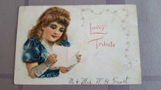 Very old lot of children's cards from well known illustrators and famous publishers 50 x