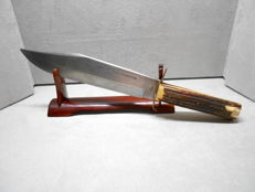 Solingen / old knife/Hubertus blade/original Bowie knife.