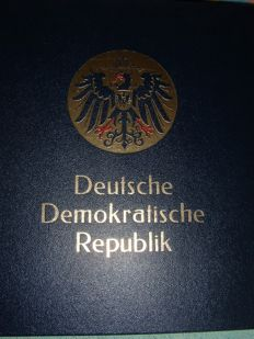 German Democratic Republic 1965/1979 – Collection in an album
