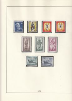 Germany Berlin 1955/1990 - Collection in Lindner albums