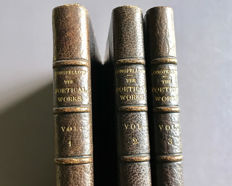 Henry W. Longfellow - Poetical Works - 3 volumes -  1856