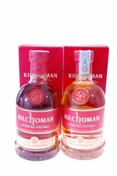 2 bottles - Kilchoman Single Cask releases for Pot Still Austria & OW Italy