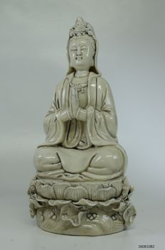 Guan Yin – Blanc de Chine porcelain – China – late 20th century