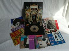 """Michael Jackson - Dangerous Special Limited Edition 1991 Gold CD and 12 x Vinyl 7"""""""