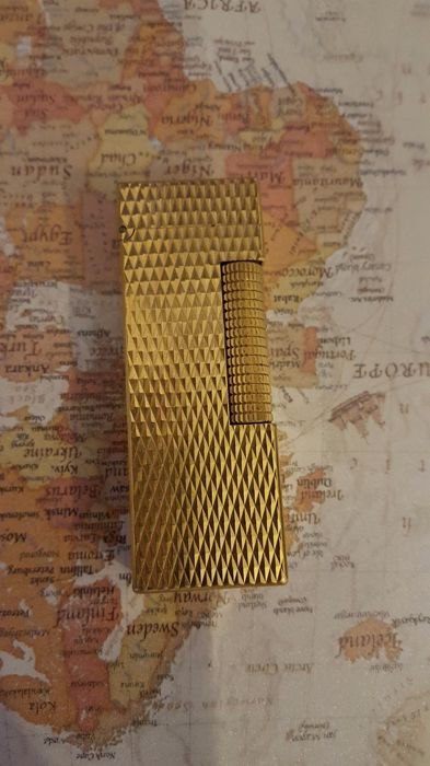 Dunhill gold plated lighter