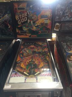 Zaccaria STAR GOD pinball machine