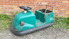 Unknown designer - Wonderful green vintage bumper car as decorative object
