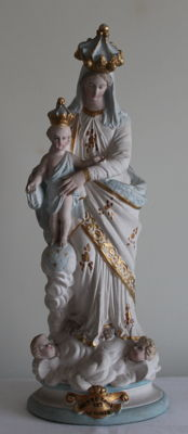 "Wonderful Mary with Child, ""Notre Dame des Victoires"" - France - 1st quarter of the 20th century"