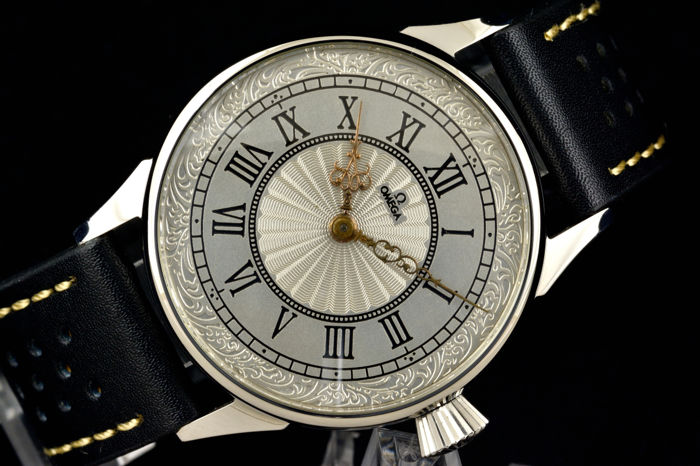 Omega from 1914 mariage built to a wristwatch