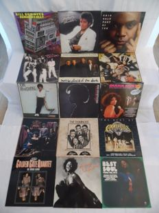 Nice lot of 15 Albums - 16 Records - In Blues - Soul & Funk - Bill Summers - Michael Jackson - Eric Gale - Robert Cray Band - Mothers Finest - Joan