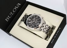 Bulova Chronograph - Men's Wristwatch - Unworn