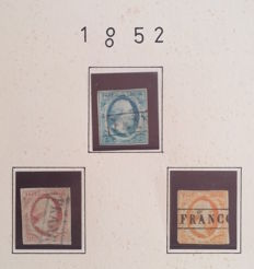 The Netherlands 1852/1935 – collection in album