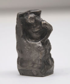 """Sculpture """"Study on Anthropos"""" by Alfred Hrdlicka, in the directory of works: 173 b"""