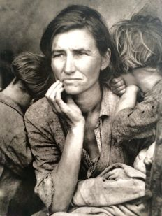 Dorothea Lange (1895-1965) - The migrant mother, 1936
