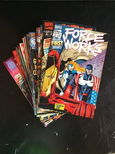 Marvel Comics - Force Works - Issues nos. 1/22, a complete set - 22x SC - (1994/1996)
