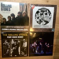 Four Rolling Stones LP's  || Play Chuck Berry, Live At The BBC ... And Beyond, The Rolling Stones On Air, Bright Lights, Big City ||