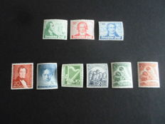 Germany, Berlin, series from 1949, 1951, 1952 and 1953