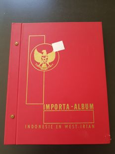 Indonesia – Batch in album and sleeves