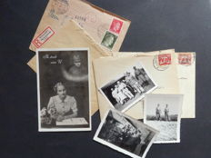 Letters; about 50 letters - 1939/1945