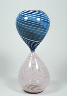De Mio Giuliano - blue/pink Filigrana hourglass