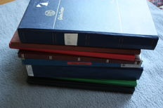 World - Batch from various countries in 8 stock books.