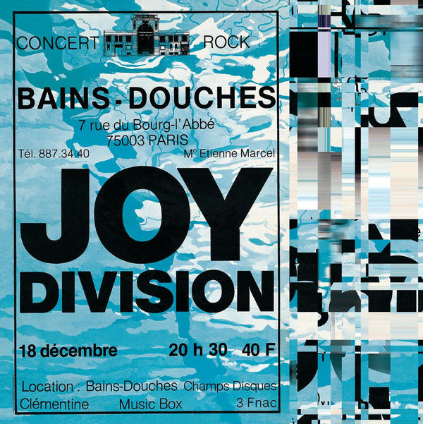 Joy division collection 4 albums les bains douches roots preston 28 february 1980 live - Les bains douche paris discotheque ...