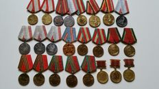 Russia/USSR - 24 Medals
