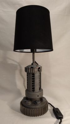 "Industrial loft lamp ""scharlotta art."" #5"
