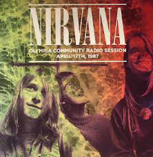 Nirvana collection || 5 LP's ||   Live On KAOS-FM, Seattle-1987, Live At Paradiso, Amsterdam - November 25th 1991,  Greatest Hits Live On Air