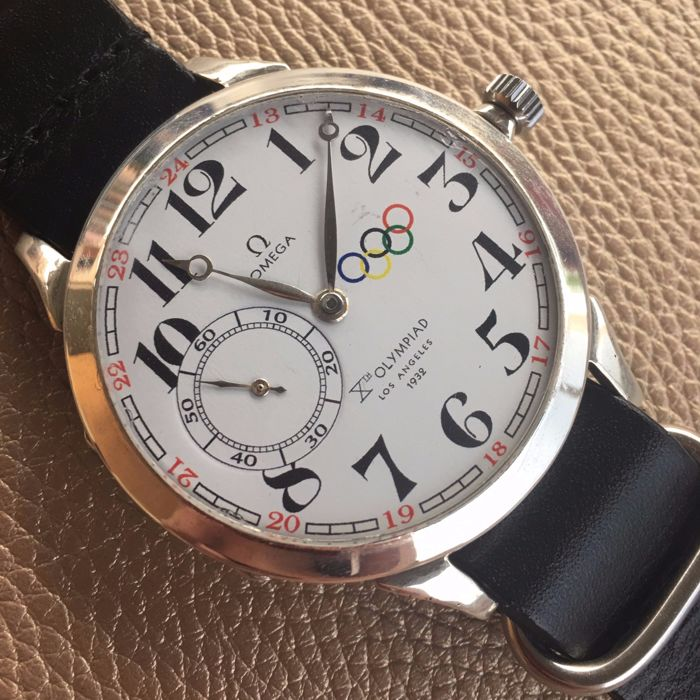Omega mariage watch - 1932 Los Angeles Olympics - 1930