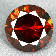 Red-orange diamond - 1.55ct, VG/VG/VG