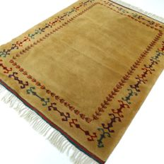 """Biallas - 165 x 130 cm - """"Modern Persian carpet in magnificent, nearly unused condition"""" - With certificate."""