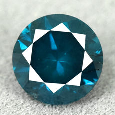 Blue Diamond - 0.59ct No Reserve Price