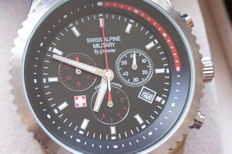 Swiss alpine military - men's wristwatch