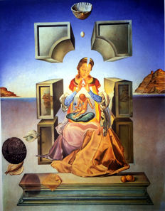 Salvador Dalí (after) -  Madonna of Port Lligat