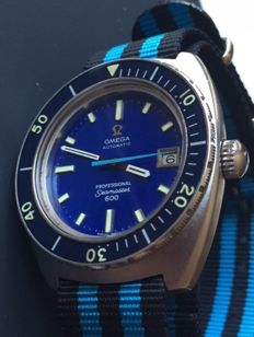 Omega-Seamaster 600 Profesional  Diver-Year 1960-Ultra Rear