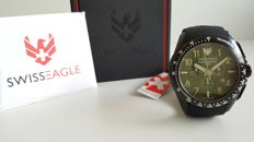 Swiss Eagle Tactical Chronograph  – men's wristwatch – 2017, never worn