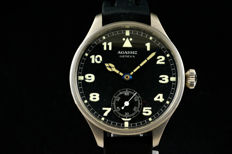 Agassiz Swiss military marriage watch