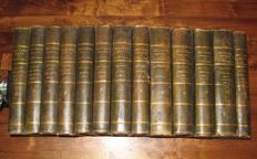 Jean-Jacques Rousseau - Collection Complette des Oeuvres - 13 volumes - 1774/1783