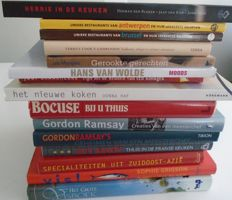 Lot with 15 cookery books - 1983 / 2014