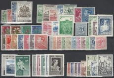 Belgium 1950/1951 – Full years 1950 and 1951 including block 29 – OBP no. 823 to 875