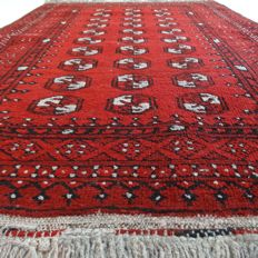 "Afghan - 139 x 97 cm - ""Authentic Persian rug in gorgeous, practically unused, condition"" - With certificate."