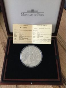 France – Monnaie de Paris – 50 Euro 2003 'Europe / First Anniversary of the Euro' – 1 kg silver